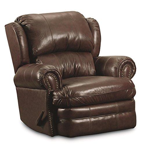 Hancock Leather Furniture (Lane Furniture Hancock Recliner, Savaughed Brown)
