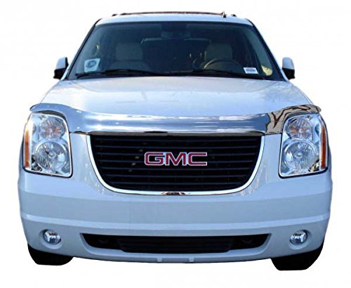 Auto Ventshade 680837 Chrome Hood Shield for 2007-2014 GMC Yukon, Yukon XL