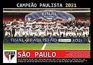 Pôster A4 - São Paulo Campeão Paulista 2021