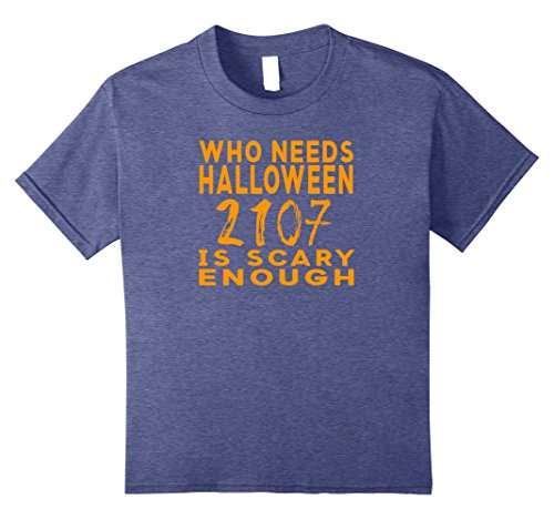 Kids Funny Political 2017 Halloween Costume Shirt 10 Heather Blue (Funny Diy Halloween Costumes 2017)