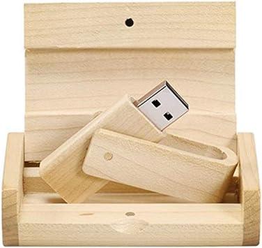 Memoria USB USB 2.0/3.0 de Madera con Caja de Madera 2.0 16GB: Amazon.es: Electrónica