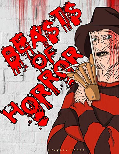Movie Times Voorhees (Beasts of Horror: A Coloring Book Filled With The Most Evil Villains & Monsters From)