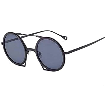 Gafas de Sol Redondas con Tendencia metálica Gafas de Sol ...