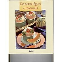 Desserts légers et naturels