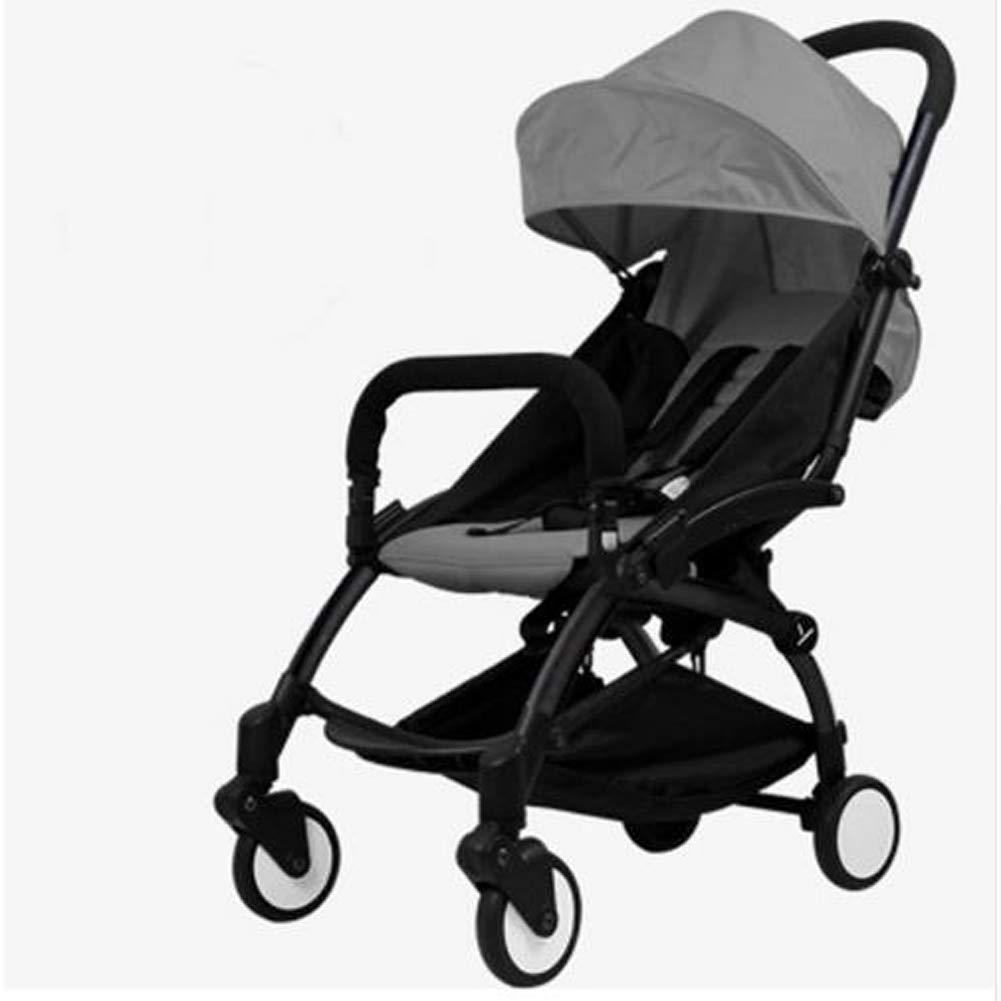 NaNa Baby Stroller 2 in 1 + New Born nest Baby Trolley Folding Baby Stroller car pram,1 by NaNa