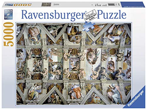 Ravensburger Sistine Chapel 5000 Piece Jigsaw Puzzle for Adults - Softclick Technology Means Pieces Fit Together Perfectly (Puzzle 5000 Piece)