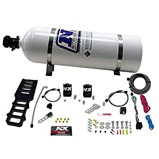 Nitrous Express 20103-15 Edelbrock Victor Plate with 15 lbs. Bottle for Ford 5.0L (B004LF7M38) | Amazon price tracker / tracking, Amazon price history charts, Amazon price watches, Amazon price drop alerts