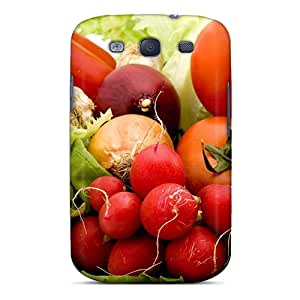 Fashionable Style Case Cover Skin For Galaxy S3- Food Differring Meal Fresh Vegetables