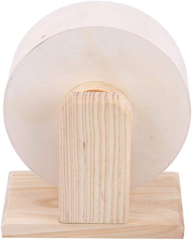 Small Animals Exercise Wheel Hamster Pets Wooden Rest Nest Playing Toy for Gerbils Chinchillas Hedgehogs Mice Hamster Wheel