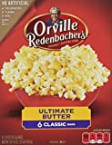 popcorn bags microwave - Orvillle Redenbacher's Ultimate Butter Microwave Popcorn, 6 Classic Bags (19.74 Ounces Total)