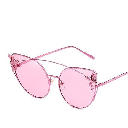 BiuTeFang Gafas de Sol Mujer Hombre Polarizadas Ojo Gafas de Sol Océano Transparente Pedazo Versión Coreana