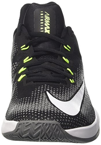 Low Infuriate Air Max Basketball Chaussures black Grey white cool volt Homme Nike De Multicolore RCtqw