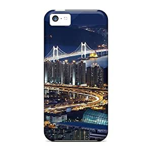 XiFu*MeiDurable Evening On The Bridge Back Case/cover For iphone 5/5sXiFu*Mei