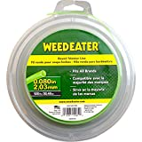 "Weed Eater 588937905 0.080"" by 150' Bulk Round String Trimmer Line"
