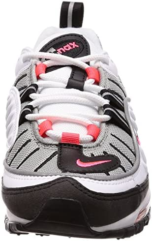 Nike Women's Gymnastics Shoes, White (White/Solar Red/Dust/Reflect Silver 104), 6.5 us