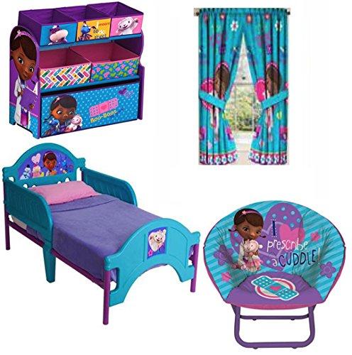 Attractive Toddler Bedding Collection Set (Doc McStuffins) · Doc Mcstuffins Bundle Of 4