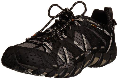 Merrell - Waterpro Maipo, Zapatos de Low Rise Senderismo Hombre Negro (Black)