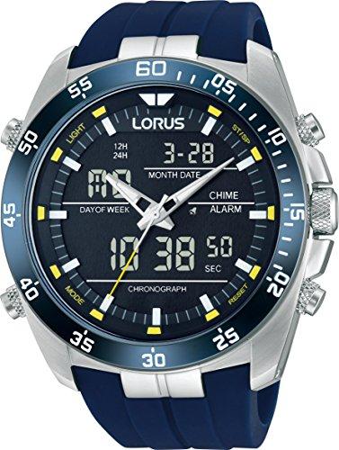 Lorus RW617AX9 - Wristwatch, caucciu