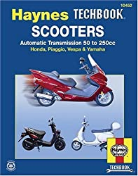 Scooters,Automatic Transmission 50 to 250cc (Hayne's Automotive Repair Manual)