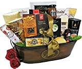 Golden Luxuries Gourmet Food Gift Basket