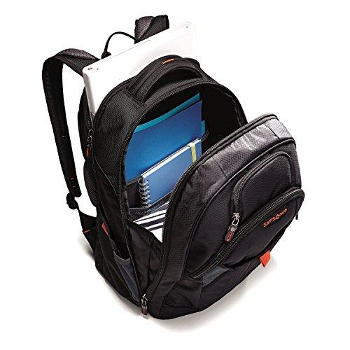 51W5Mg2ZPWL - Samsonite Tectonic 2 Large Backpack, Black/Orange