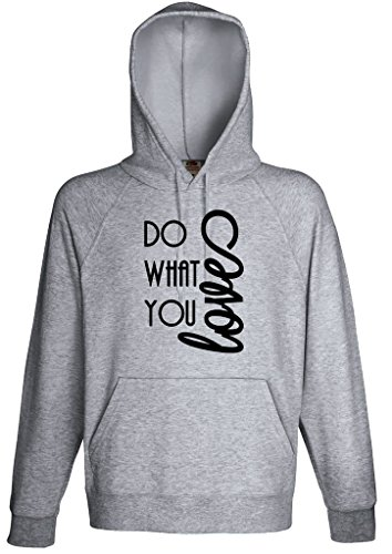 Do What you Love Hoodie Custom Made Hooded Sweatshirt