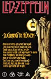 Led Zeppelin - Stairway to Heaven Hobbies Poster Print, 22x35