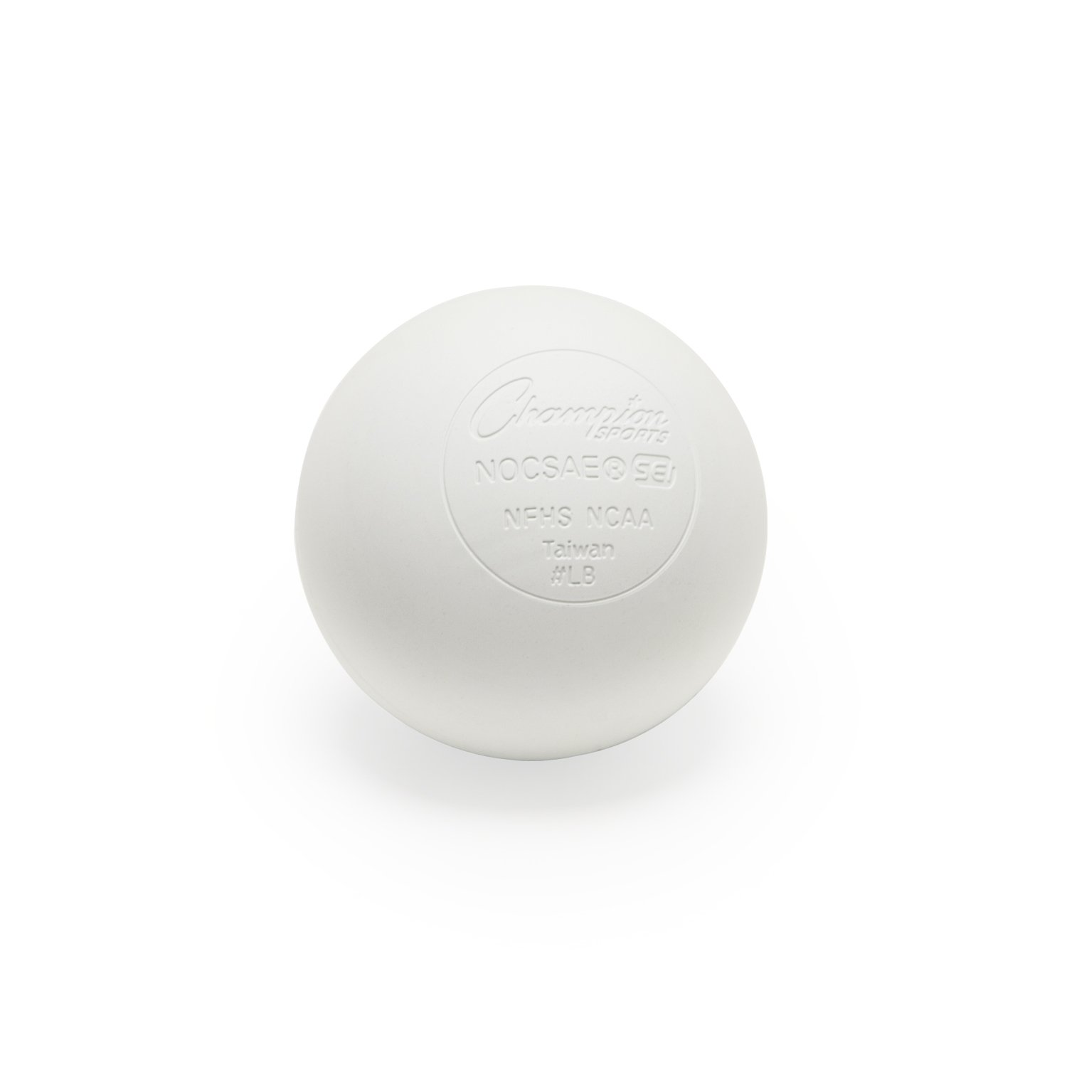 Champion Sports Official Lacrosse Balls - Various Colors Available in Packs of 6, 12, 24, 48, and 96