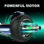 GeekMe-Monopattino-Scooter-Elettrico-per-Tutti-i-Terreni-da-85-Pollici-e-Scooter-Auto-bilanciato-con-App-Bluetooth-Potente-del-Motore-Illuminazione-a-LED-per-Adulti-e-Bambini