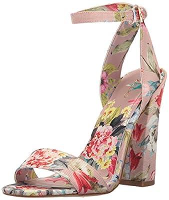 Aldo Women's Miyaa Heeled Sandal, Light Pink, 7.5 B US