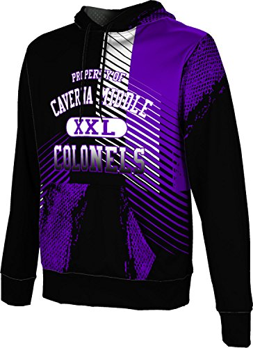 Price comparison product image ProSphere Men's Caverna Middle High School Hustle Hoodie Sweatshirt (Apparel)