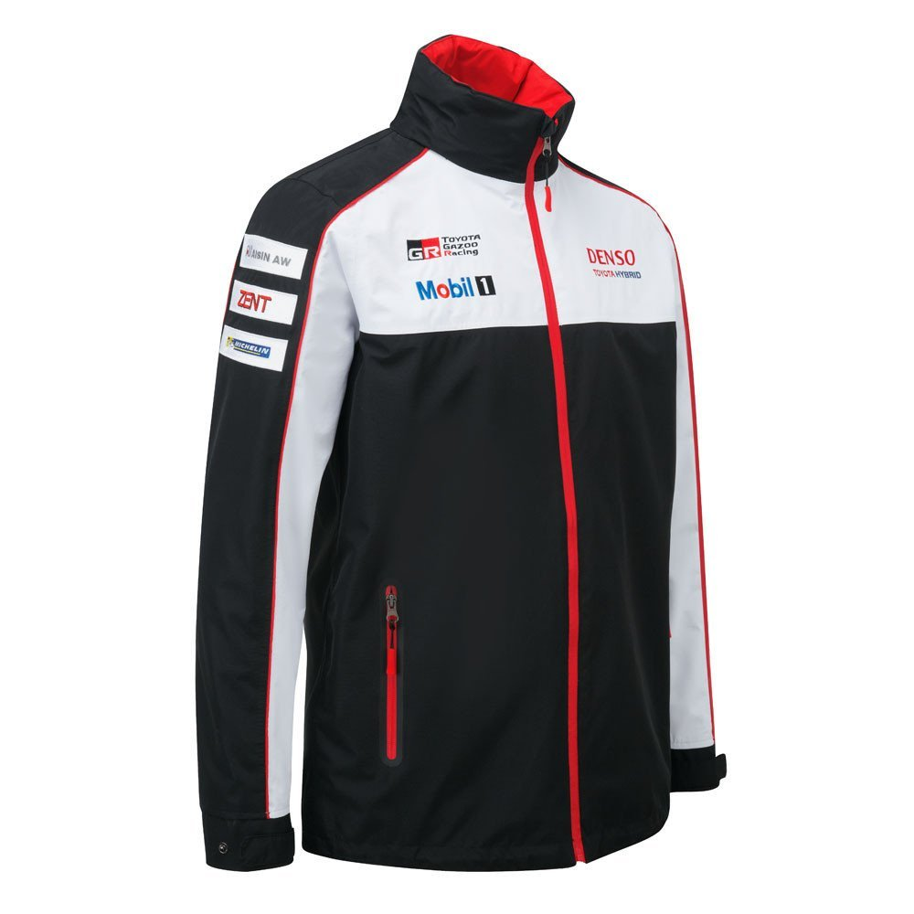 Toyota Gazoo Racing Lightweight Jacket XS S M L XL XXL Men's Black Coat