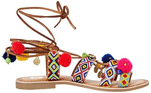 Gioseppo OMAHAS - Sandalias para mujer CUERO
