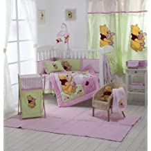 Disney Pink Winnie the Pooh Crib Bedding Collection 4 Pc Crib Bedding Set