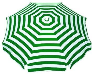 sonnenschirm grün weiß