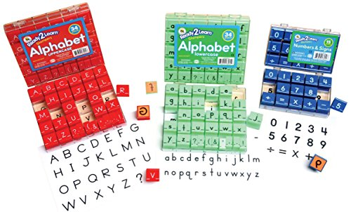 Center Enterprise CE6818 READY2LEARN Combo Manu-Alpha and Number, 1-1/2