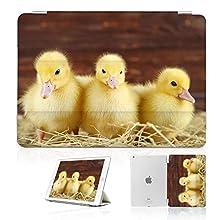 for iPad 2, iPad 3, iPad 4, Designed Smart Case Cover, SMART40084 Duckling Cute Duck 40084