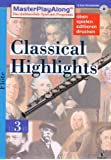 MasterPlayAlong, Classical Highlights 3, CD-ROMs : Flöte, 1 CD-ROM Für Windows 95/98