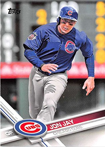 2017 Topps Series 2 #695 Jon Jay Chicago Cubs Baseball Card