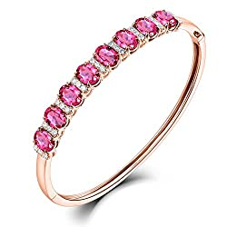 Diamond Tourmaline Bracelet for Women