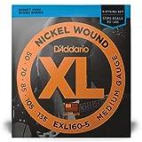 D'Addario EXL160-5 5-String Nickel Wound Bass