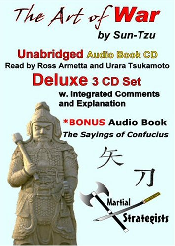 The Art of War Unabridged Deluxe CD Audiobook: With Commentary, Explanations and Bonus the Sayings of Confucius