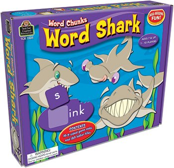 * WORD SHARK WORD CHUNKS GAME