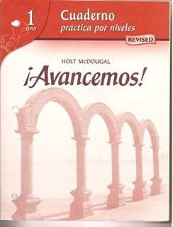 Avancemos cuaderno practica por niveles student edition level avancemos cuaderno practica por niveles workbook teachers edition level 1 spanish fandeluxe Choice Image