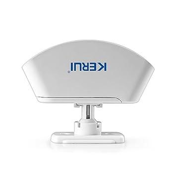 Sensor de movimiento inalámbrico ARBUYSHOP KERUI cortina PIR de la antena interna Infraid detector PIR de