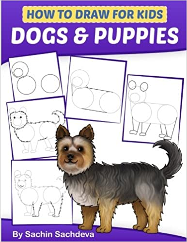 How to Draw for Kids: Dogs & Puppies (An Easy STEP-BY-STEP