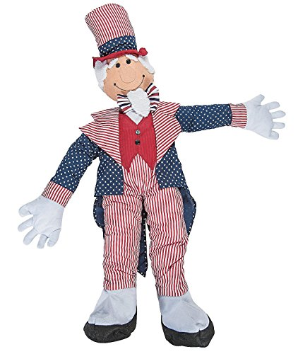 Patriotic Stuffable Uncle Sam 40