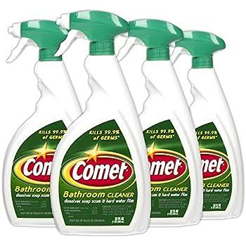 Amazon Com Comet Classic Foaming Bleach Bathroom Cleaner