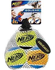 Nerf Dog VP6808 Squeak Tennis Balls Dog Toy (3 Pack) Medium