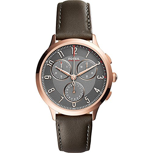 Fossil-Abilene-Multifunction-Leather-Watch